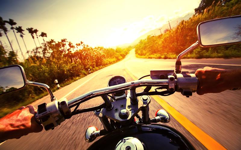 By motorbike